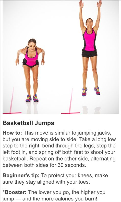 Basketball Jumps Jumping Jacks Exercise Basketball