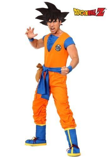 Dragon Ball Z Authentic Goku Costume For Men Goku Costume Dragon Ball Z Cool Costumes