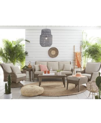 Silver Lake Indoor Outdoor Flat Rattan