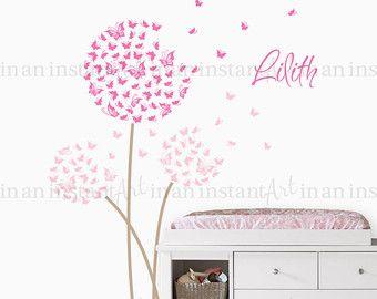 Ideal The best Wandtattoo schmetterling ideas on Pinterest Wandtattoo pusteblume Wandtattoo m dchen and Schmetterling Baby Zimmer