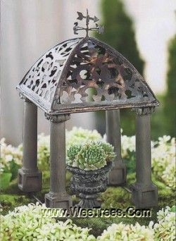 love this miniature gazebo!