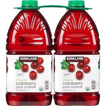 Kirkland Signature Organic Cranberry Juice Cocktail, 96 fl