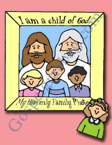 CHILD OF GOD: Primary CTR-A, Lesson 3, Primary 2 manual, I Am a Child of God, Primary Lesson Helps, family home evening, Sunday Savers book ...