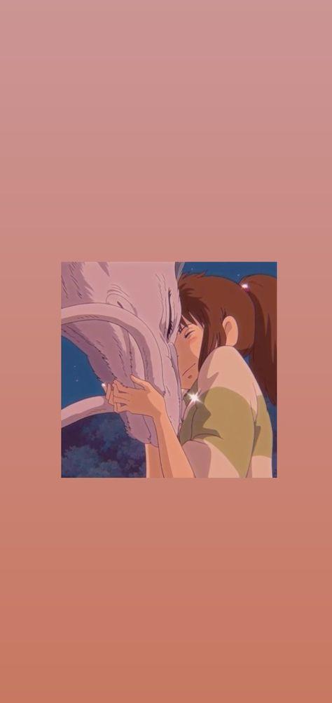 Chihiro and Haku wallpaper