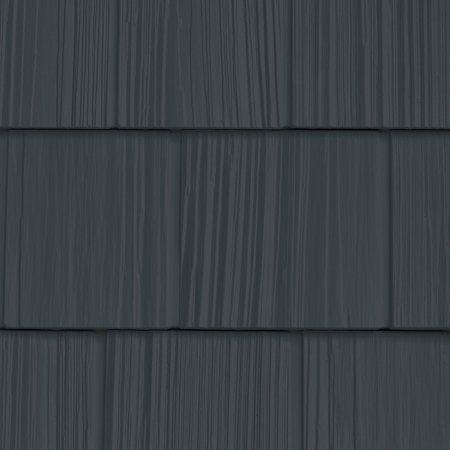 7 W X 60 3 4 L Exposure Vinyl Split Shakes 34 Panels Ctn 100 Sq Feet 692 Deep Granite Walmart Com Grey Vinyl Siding Vinyl Cedar Shake Siding Vinyl Siding Colors