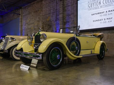 1927 Duesenberg Model X 527 5k Rm Sotheby S Guyton Collection