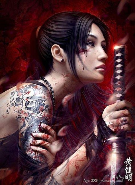 Samurai Tattoos 7