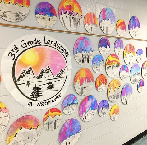 Cassie Stephens: In the Art Room: Top Ten Favorite Winter Art Lessons! Winter Art Projects, Toddler Art Projects, Art Projects For Teens, Classroom Art Projects, School Art Projects, Art Classroom, 3rd Grade Art Lesson, Third Grade Art, Grade 3 Art