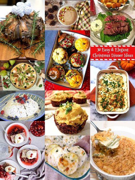 Easy Christmas Dinner Menu.30 Elegant Christmas Dinner Menu Ideas Roundups