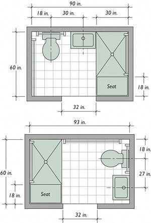 Small Bathroom Floor Plans Remodeling Your Small Bathroom ...