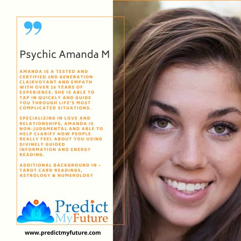 Talk to the best online psychics for accurate psychic predictions!  #predictmyfuture #lovepsychicreadings #lovepsychic #lovepsychics #psychictarotcardreaderandadviser #psychictarotfortheheart #psychictarotreader #tarotpsychic #psychictarotreading #thepsychictarot #psychictarotonline #psychictarotoftheheart #psychictarotcardreader #thepsychicfortheheart #psychictarotspells #truephonepsychics #psychicoverphone #psychicreadingsonline #psychicempath #psychicmediums #phonepsychicreader