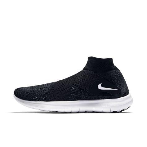7cf11d95bf34d Nike Free RN Motion Flyknit 2017 Women s Running Shoe Size 10.5 (Black)