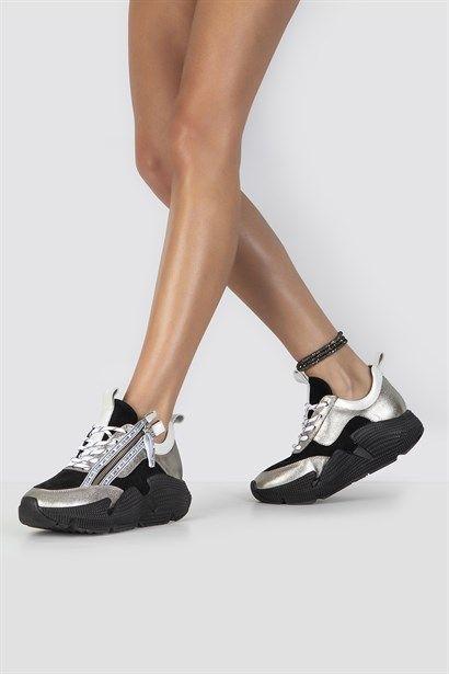 Yeni Sezon Bayan Spor Ayakkabi Sneakers Slip On Ilvi Sneaker Ayakkabilar Spor Ayakabilar