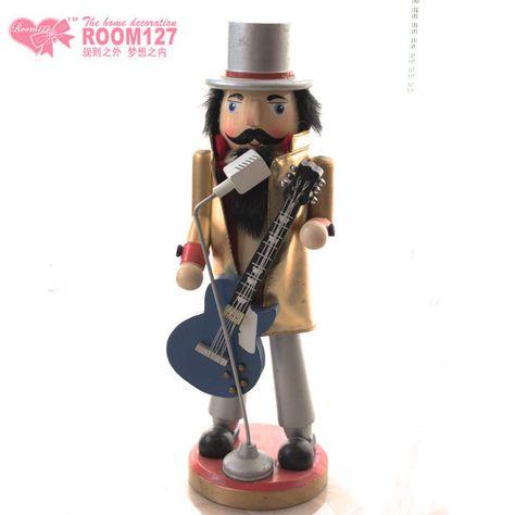 Nutcracker-38cm-height-wooden-Nutcracker-wood-craft-Music-Guitarist-Dolls-Christmas-gifts-home-Ornaments-Free-shipping.jpg 600×600 pixels