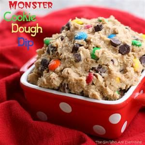 Monster Cookie Dough Dip...for my friend Becky M...