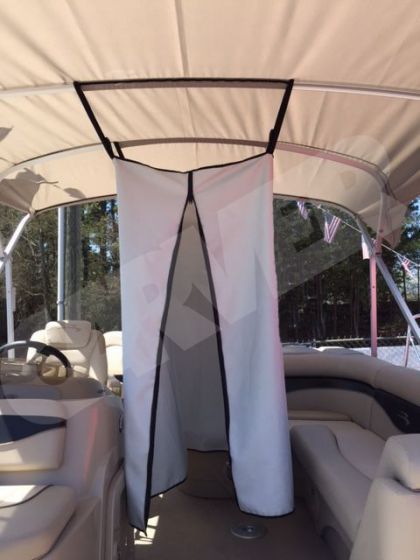 Carver Privacy Curtain For Pontoons Pontoon Plywood Boat Plans