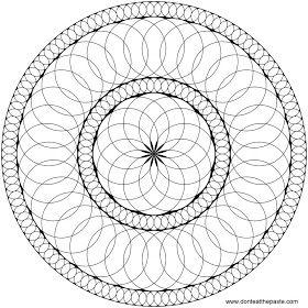 Circles Mandala To Color Mandala Coloring Pages Mandala Coloring Coloring Pages