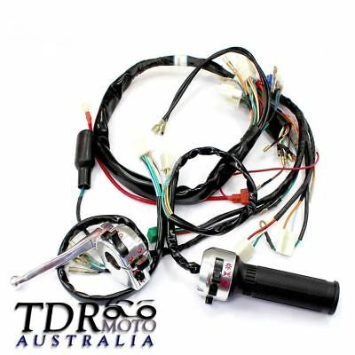 Advertisement Ebay For Honda Z50 50cc Monkey Gorilla Wiring Harness Assembly Loom Control Switch Au Motorcycle Parts And Accessories 50cc Honda