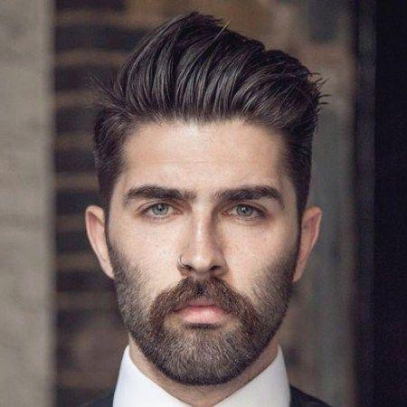 Nach Oben Frisuren Männer Breites Gesicht