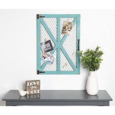 Photo Collage Clip Wall Frame Teal