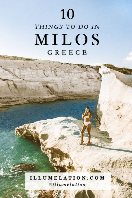 10 Things To Do in Milos Island, Greece