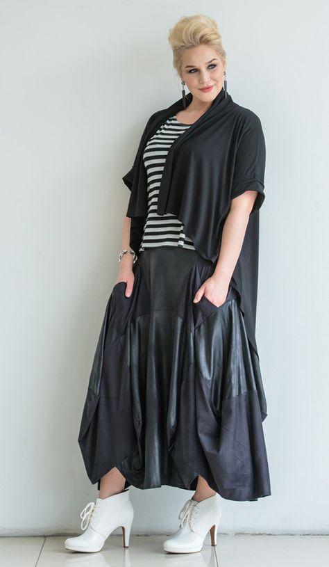 Готовая женская одежда большого размера готовый образ одежда