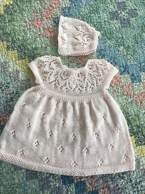 Baby dress Knit Dress model Hanna