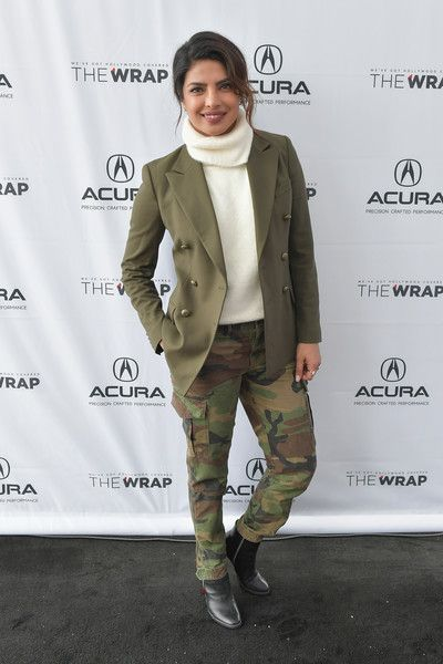 Actor Priyanka Chopra of 'A Kid Like Jake' attends the Acura Studio at Sundance Film Festival 2018.