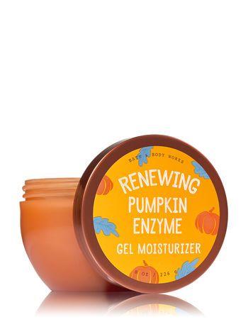 Pumpkin Enzyme Gel Moisturizer Bath And Body Works Gel