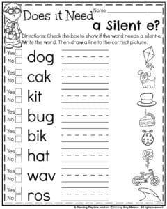 First Grade Summer Worksheets Planning Playtime First Grade Worksheets 2nd Grade Worksheets First Grade Phonics Kindergarten to first grade worksheets