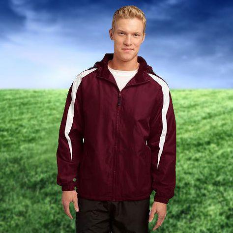 Sport Tek® Fleece Lined Colorblock Jacket | AthleticWarm