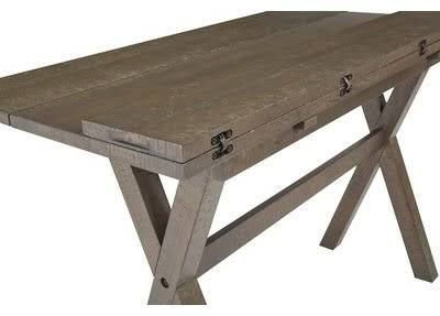 Console Table Converts To Dining Table Expandable Dining Table