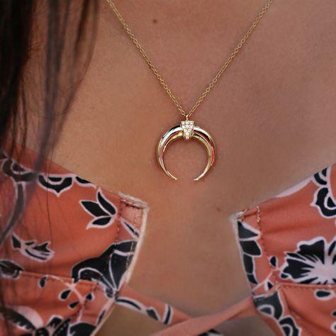 Jewel Tie Sterling Silver Antiqued Moon Fairy Pendant 1.97 in x 1.5 in