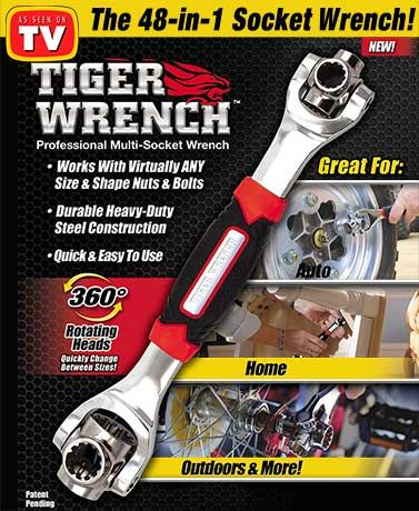 Tiger Wrench Socket Set Socket Wrenches Wrench