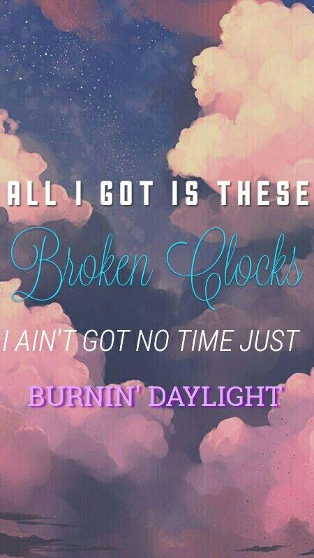 Sza Broken Clocks Lyrics Wallpaper Music Quotes Clocks Lyrics