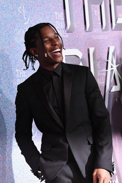 ASAP Rocky attends Rihanna's Annual Diamond Ball benefitting The Clara Lionel Foundation at Cipriani Wall Street on September 2018 in New York City. - 144 of 298 Beautiful Boys, Pretty Boys, Lord Pretty Flacko, Rapper, A$ap Rocky, Don Juan, Mode Streetwear, Fine Men, Celebrity Crush