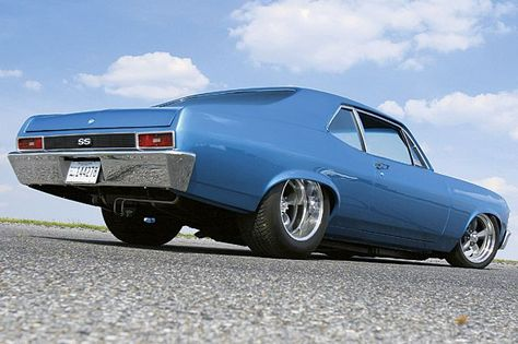 Super Chevy feature article on a 1970 Chevy Nova