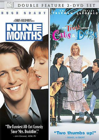 Details About Nine Months The Truth About Cats Dogs Dvd Hugh