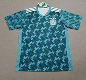 official photos b24c1 d4034 2018 World Cup Jersey Germany Away Replica Green Shirt ...