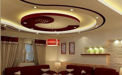 Latest Pop False Ceiling Designs For Living Room Hall Interiors