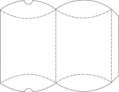 Free Printable Gift Box Templates Pillow Box And Others Box