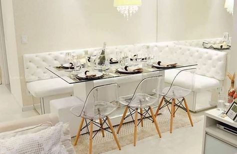 Inspiracao Sala De Jantar Com Canto Alemao Quando Feito Em Bau