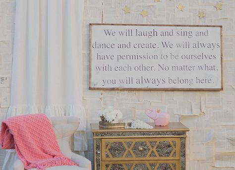 Belonging Sign by TheHouseofBelonging on Etsy, $125.00