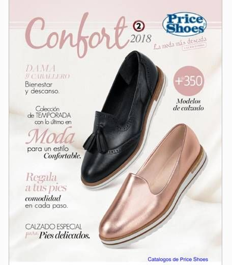 Price Shoes Confort 2019 Catalogo Zapatos Confort 2019