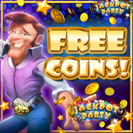 jackpot party free coins for mobile
