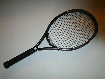 Original Wilson Hyper Carbon Hammer 2 3 Super Os 120 4 In 2020 Tennis Racket Tennis The Originals