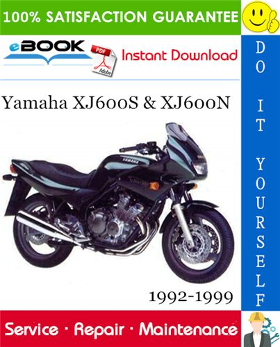 Yamaha Xj600s Xj600n Motorcycle Service Repair Manual 1992 1999 Download Repair Manuals Yamaha Repair