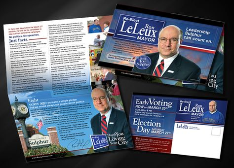 ReElect Mayor Ron Leleux Political Campaign By Oran Parker Via