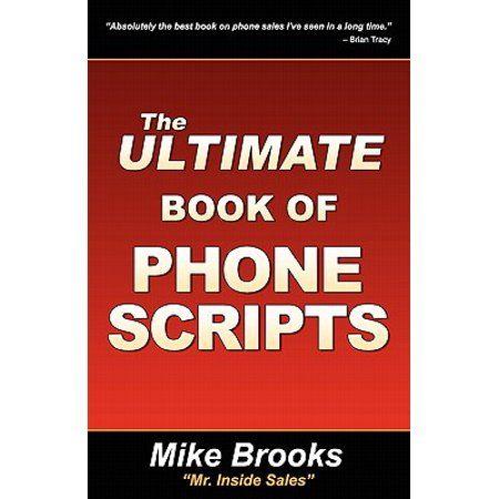 The Ultimate Book Of Phone Scripts Walmart Com Told You So Book Tv Books