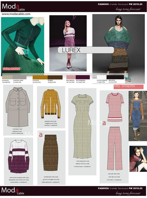 FW 2019.20 trend Lurex - ModaCable
